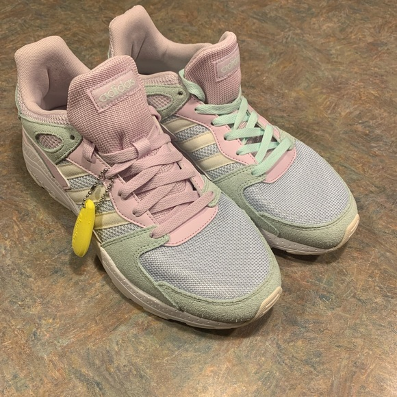 Adidas women's pastel sneakers